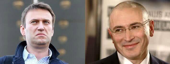 Ходорковский обвинил Навального в связях с коммунистами и обмане сторонников