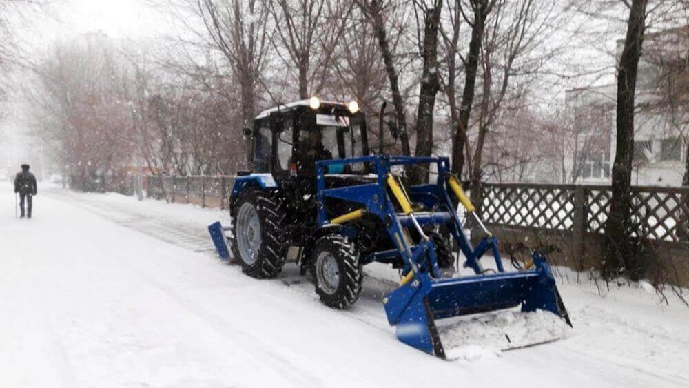 Вывоз и уборка снега в екатеринбурге
